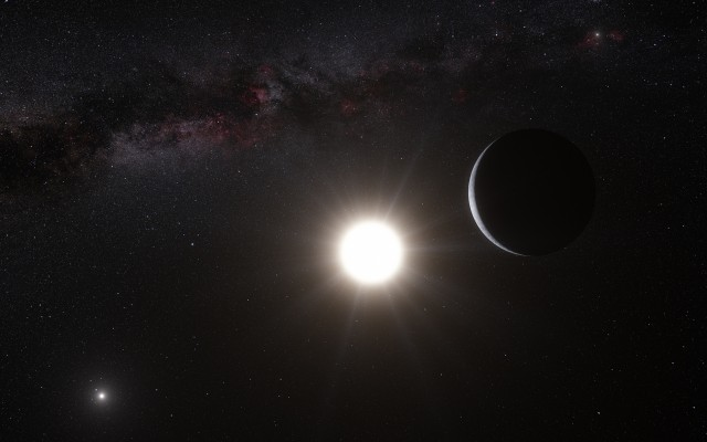Earth-sized exoplanet discovered in Alpha Centauri