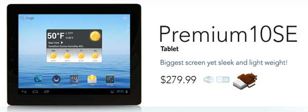 Nextbook Premium 10SE tablet rocks a 9.7-inch screen