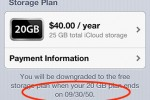 Apple iCloud bug mentions 2050 as expiration date for storage upgrades
