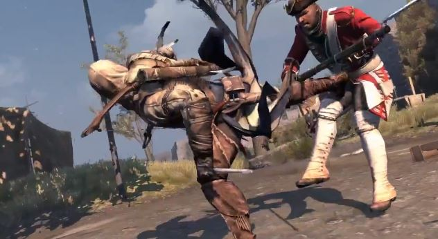 Assassin S Creed Iii Gets Brutal Weapons Trailer Slashgear