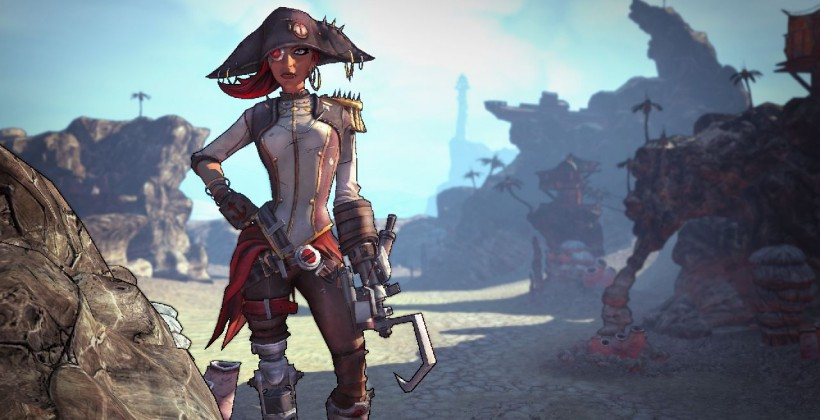 Borderlands 2 getting Captain Scarlett DLC next week