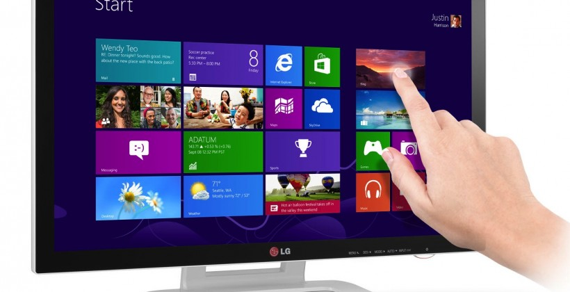 LG ET83 touchscreen monitor wants your Windows 8 fingers