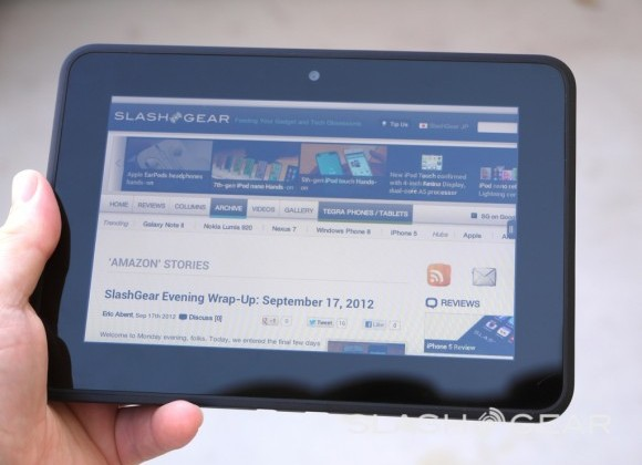 Kindle Fire has highest readership rates for digital content