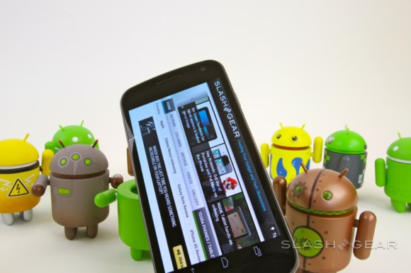 Galaxy Nexus Android 4.1.2 appears in over-the-air update