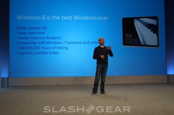 Microsoft exec Steven Sinofsky talks up Windows 8 hardware, downplays Apple