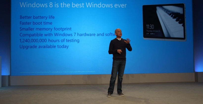 Windows 8 upgrade details shared at Microsoft event