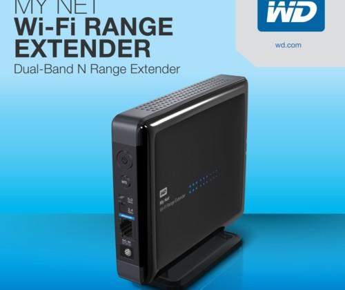 Western Digital unveils My Net Wi-Fi Range Extender