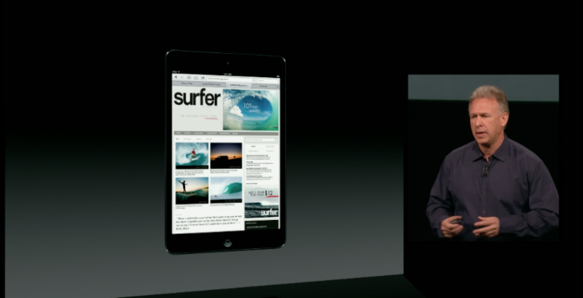 iPad mini revealed