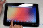 Google Nexus 10 appears in painfully short video