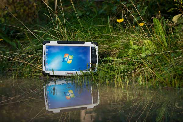 Algiz 10x tablet is built for the great outdoors