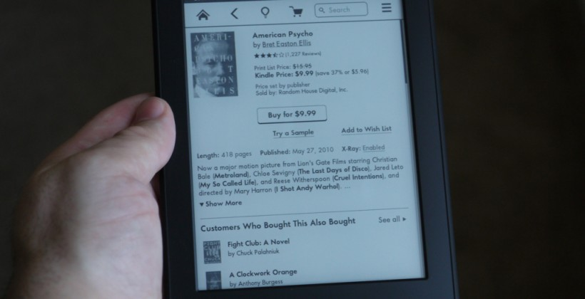 Kindle Paperwhite preorders open for October 25 UK, France & Germany release