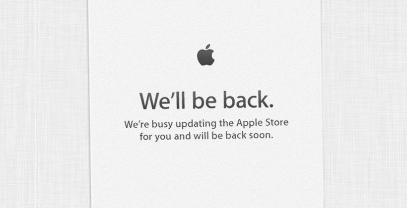 Apple Store is down: iPad mini incoming!