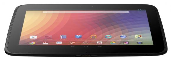 Nexus 10 vs iPad 4th Gen