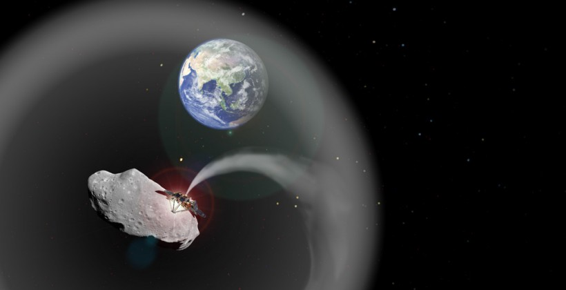 Asteroid dust could be used to fight climate change on Earth