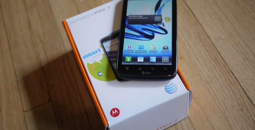 Motorola ATRIX 2 receives Android 4.0 ICS update