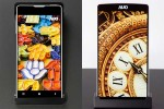 AUO shows off 4.46-inch display with world's narrowest border
