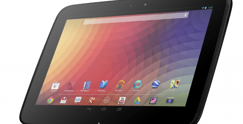 "Nexus 10 detailed as ""highest resolution on the planet"" tablet"