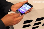 RIM's BlackBerry 10 L-Series smartphone caught in video demo
