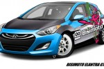 Bismoto Engineering and Hyundai build a 600 HP Elantra GT concept for SEMA