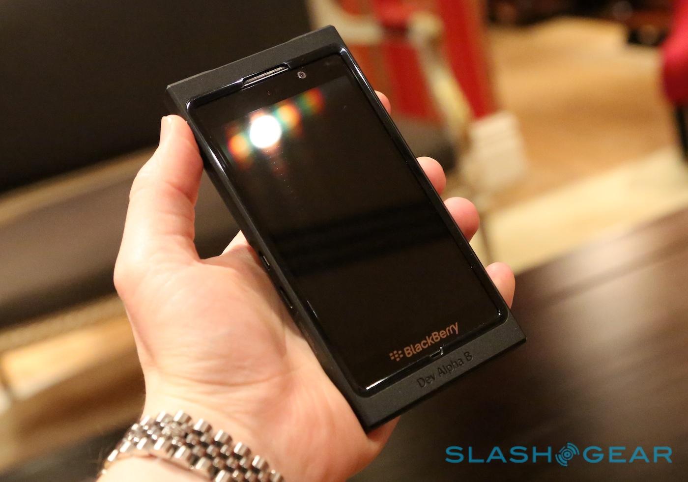 BlackBerry 10 Dev Alpha B phone teases full system - SlashGear