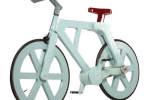 Alfa cardboard bike set for full production