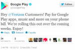 Verizon carrier billing coming to Google Play