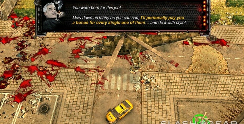 Zombie Driver hits TegraZone and hands-on with buckets of blood
