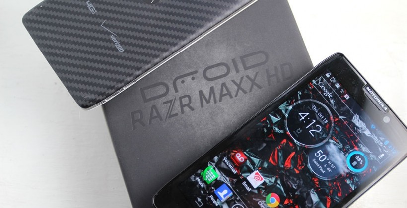 Motorola DROID RAZR MAXX HD hands-on vs RAZR HD