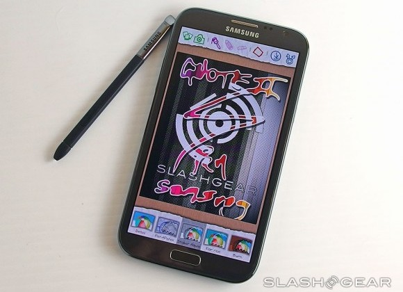 T-Mobile's Galaxy Note II has hardware support for LTE