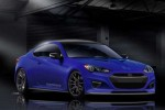 Hyundai and Cosworth prepping slick Genesis Coupe Concept for SEMA