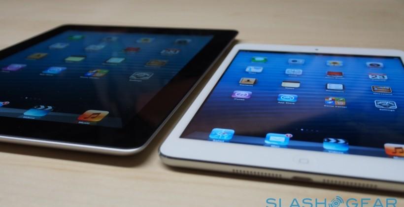 "iPad mini and iPad 4th Gen on sale: WiFi ships Nov 2nd, 4G ""late November"""