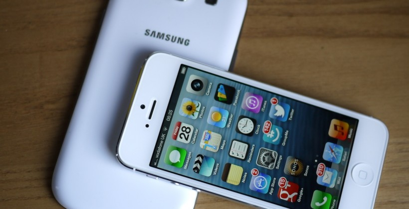 Samsung hits iPhone 5 in eight patent lawsuit