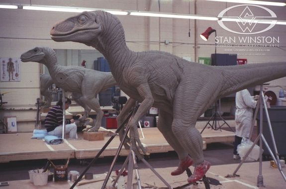 Jurassic Park's Velociraptor built from ground up in new behind-the-scenes video