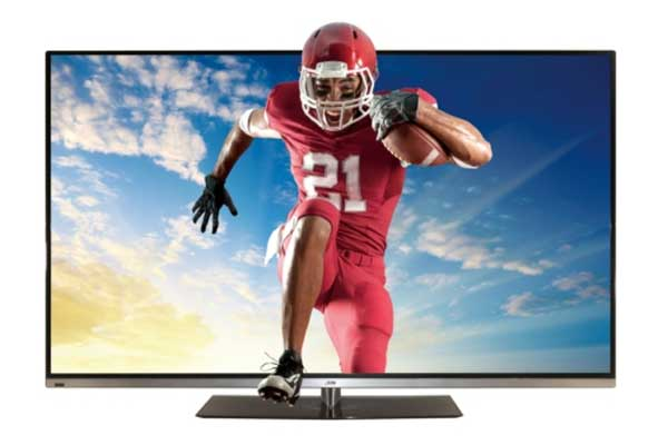 JVC unveils new 55-inch 3D HDTV with integrated Wi-Fi and passive glasses