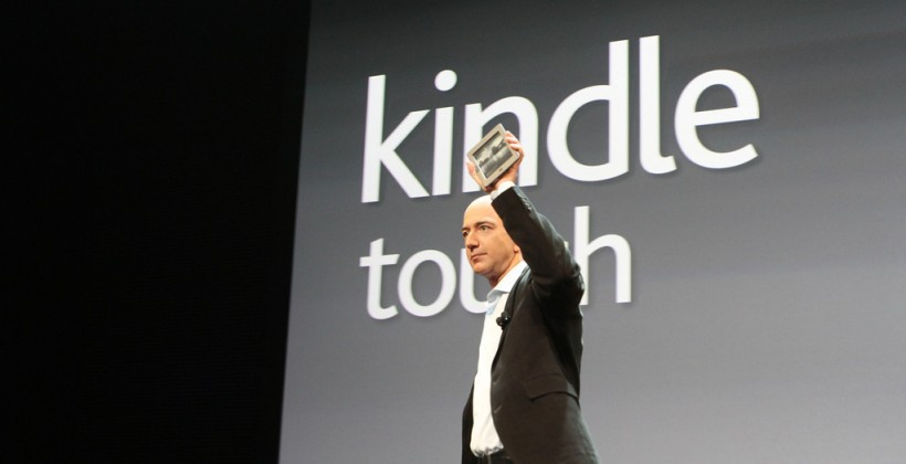 Amazon phasing out Kindle Touch