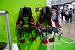 KOA Muscle Suit exoskeleton hands-on