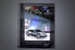 Lexus blends iPad and print for animated ES advert