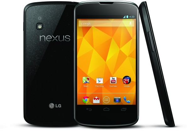 Google LG Nexus 4 official: $299 unlocked from November 13