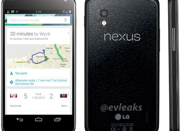 Google's Nexus 4 smartphone found in bar