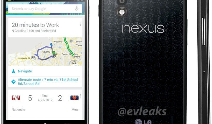 LG Nexus 4 leaks in apparently official press shot [Update
