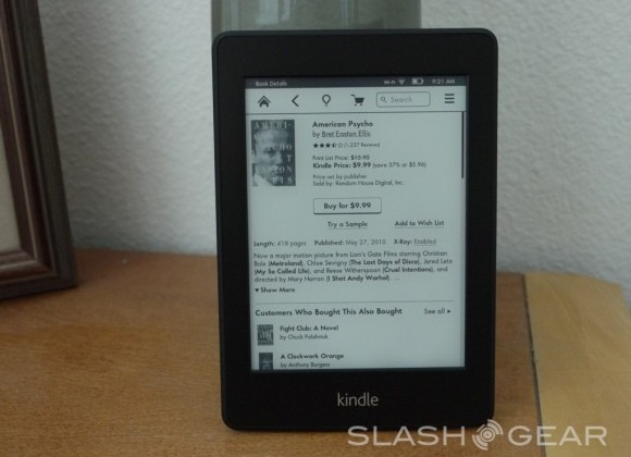 Amazon posts disclaimer on Kindle Paperwhite limitations