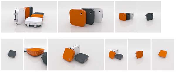 Memoto Lifelogging Camera provides searchable and shareable memories