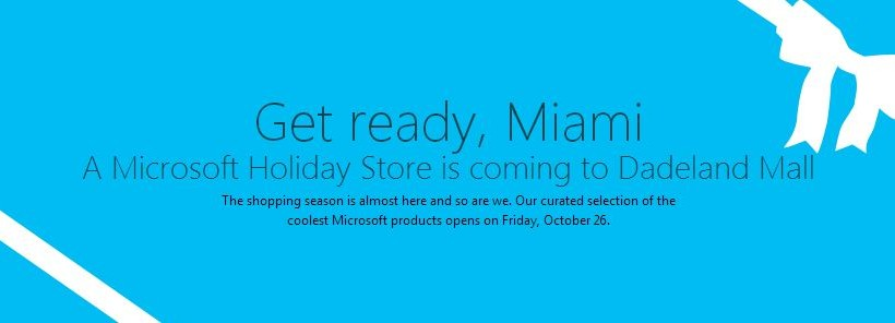 Microsoft stepping on Apple's toes with temporary retail locations