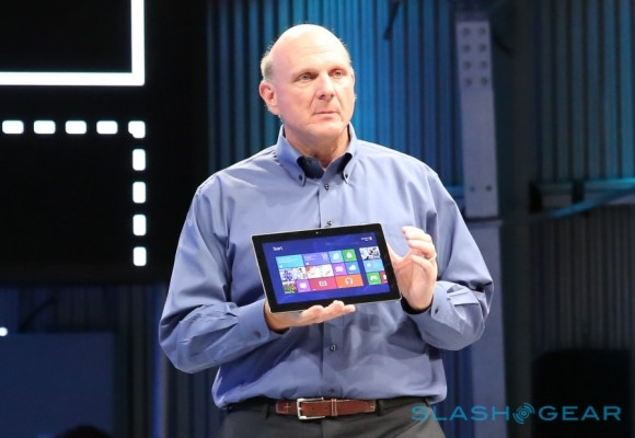 "Microsoft's Ballmer teases more hardware: ""Fundamental shift"" underway"