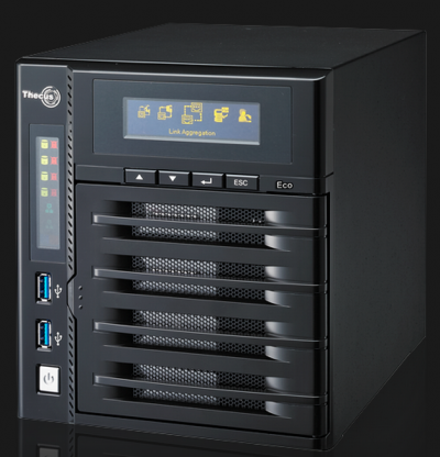Thecus releases the reduced power consumption N4800Eco