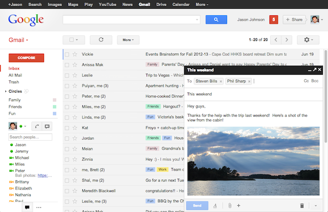 Google launches new compose and reply view in Gmail