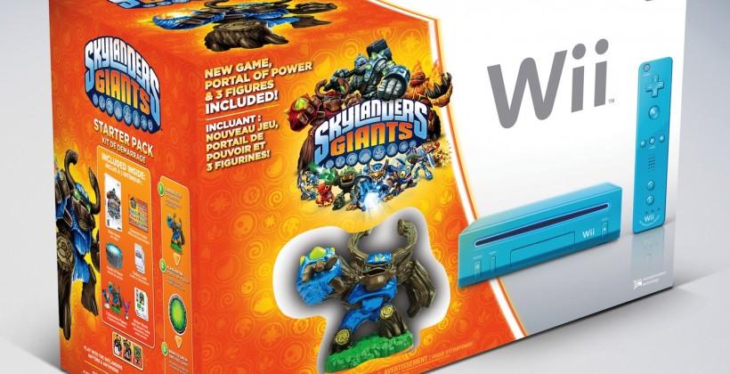 Holiday Wii bundles pair Just Dance 4 or Skylanders Giants from $130