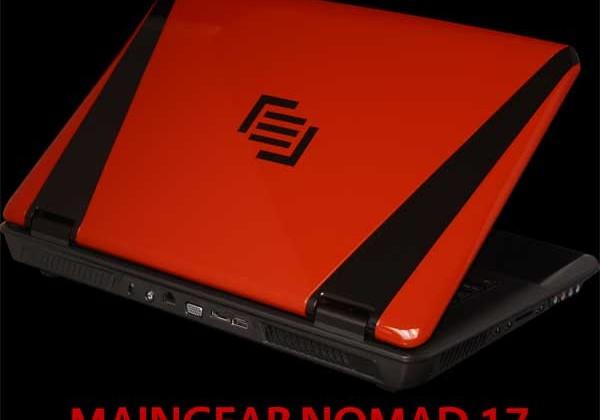 Maingear Nomad 17 gaming laptop debuts