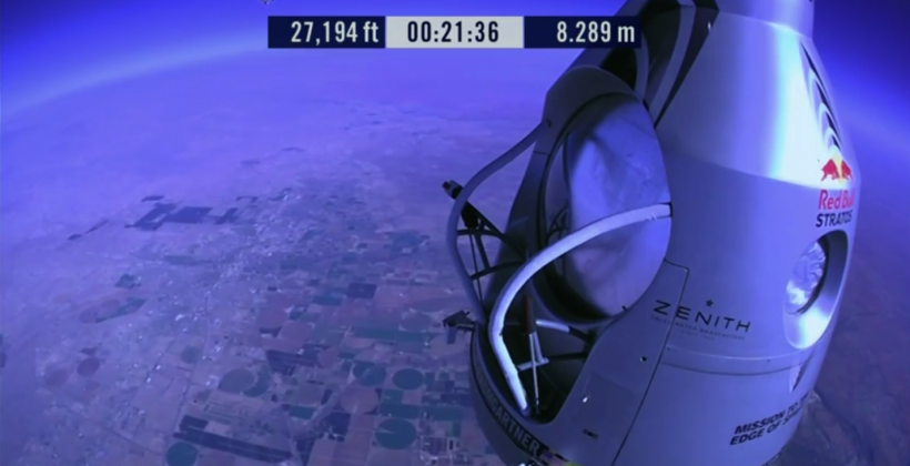 Red Bull Stratos supersonic dive is go! Watch it here…