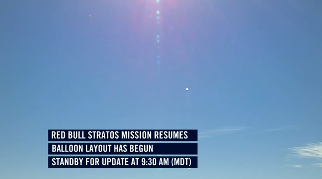 Red Bull Supersonic skydive a go [UPDATE: Delay for today!]
